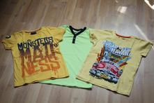 Krásne tričká veľ. 116 - 3ks, reserved,116