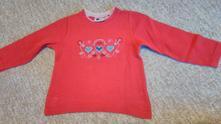 Tričko s dlhým rukávom, bavlnené, 104