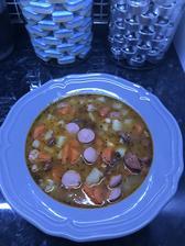 Fazuľová polievka 🥣