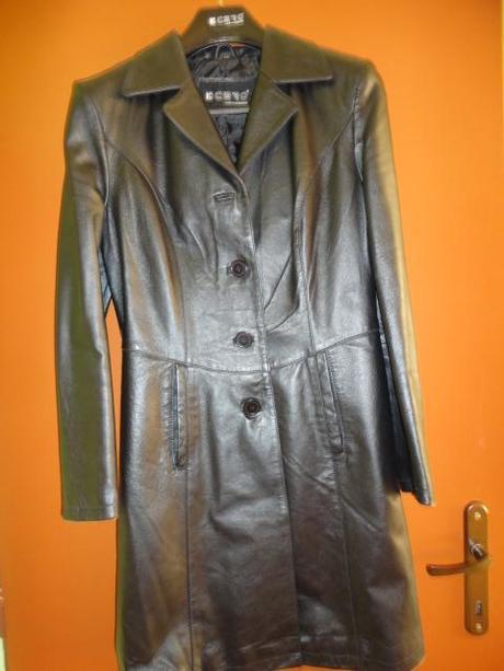 cb9dd05b6 Kožený kabát k-cero, 40 - 25 € od predávajúcej gabka111   Detský bazár    ModryKonik.sk