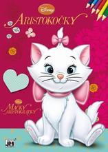 Omaľovánka disney mačky,