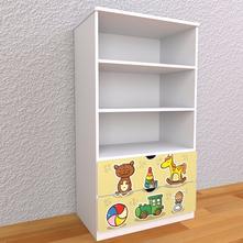 Detská knižnica 145cm - hračky,