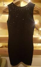 Šaty s flitrami, s