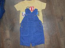 Nohavice a tričko 6-9 mes., f&f,80