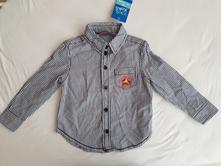 Chlapčenská pásikova košeľa, kiki&koko,92