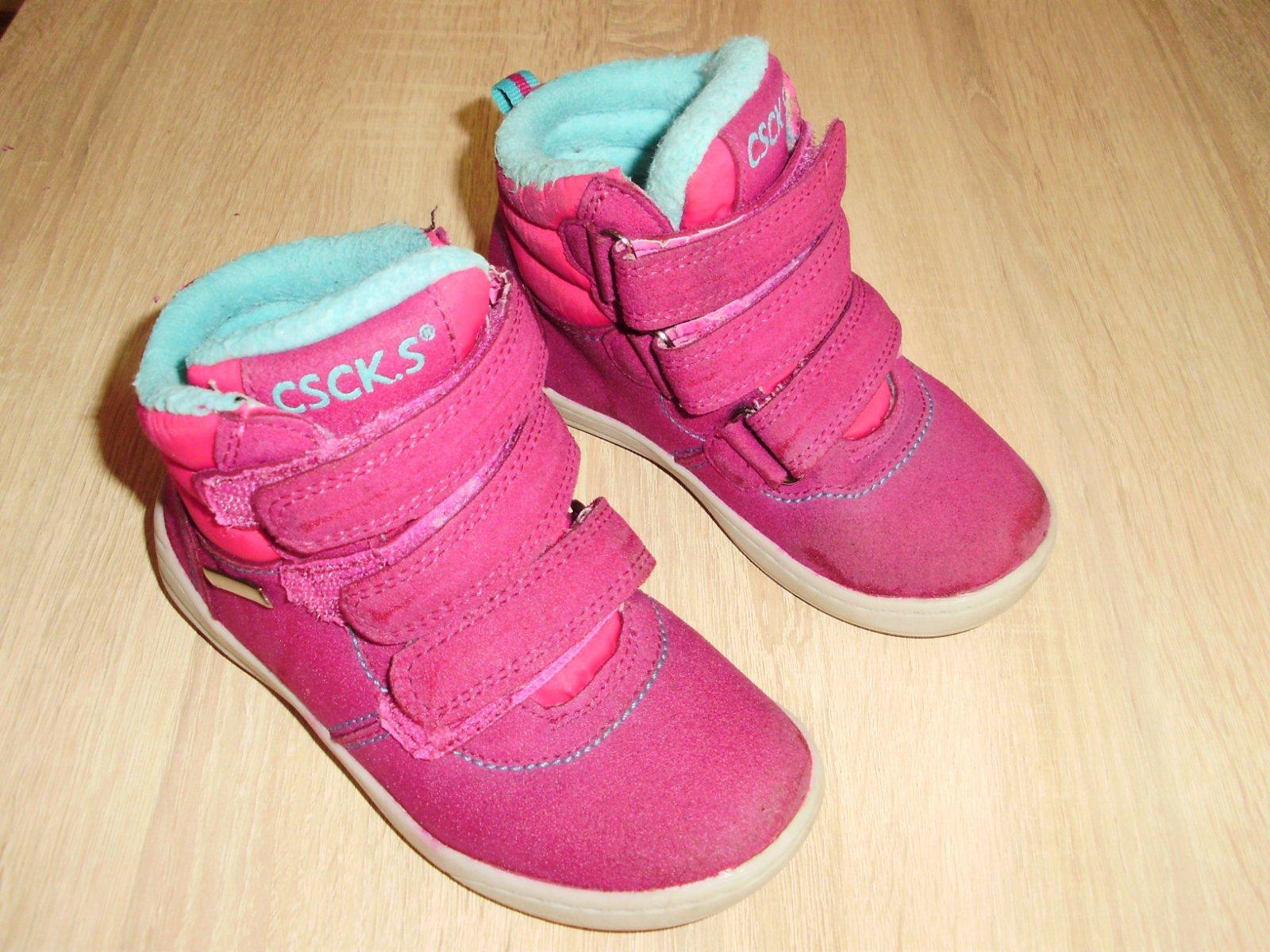 1a9ec41196d29 Zateplené členkové topánky na suchý zips,26,dievča, 26 - 12 € od  predávajúcej jana78v | Detský bazár | ModryKonik.sk