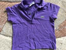 Detské tričká s krátkym rukávom   Lacoste - Detský bazár  4a930959fdc