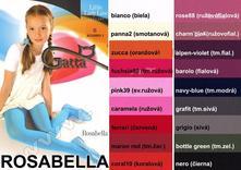Hladké pančušky 60 den rosabella zn. gatta, 92 - 158