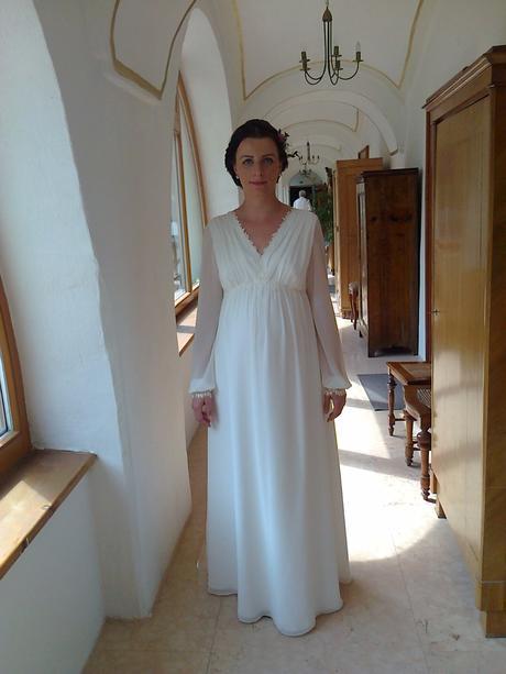 bc993b1b9d4c Tehotenské svadobné šaty