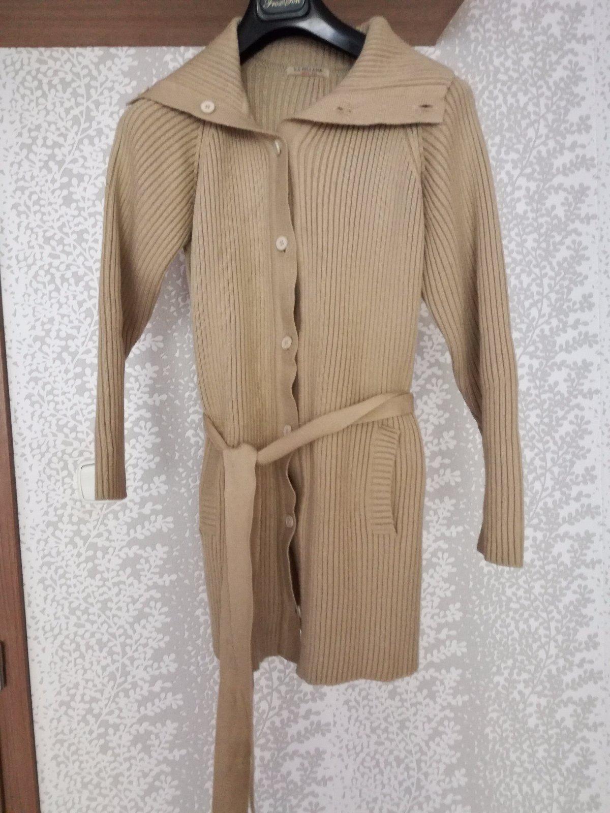 4c6d27d9bc30 Dámsky teplý dlhý sveter s-l