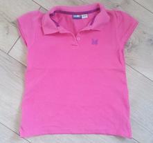Dievčenská polokošeľa,tričko veľk.110-116, lupilu,110