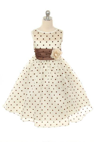 Dievčenské šaty timea hnedé 62cb5903be3