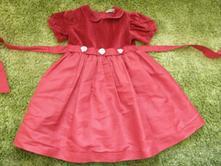 Bordové slávnostné šaty, 110