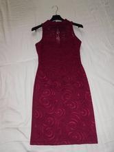 Bordove šaty - lipsy london, 34