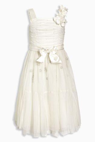d5a6d719f2fd Sviatočné krémové šaty next uk