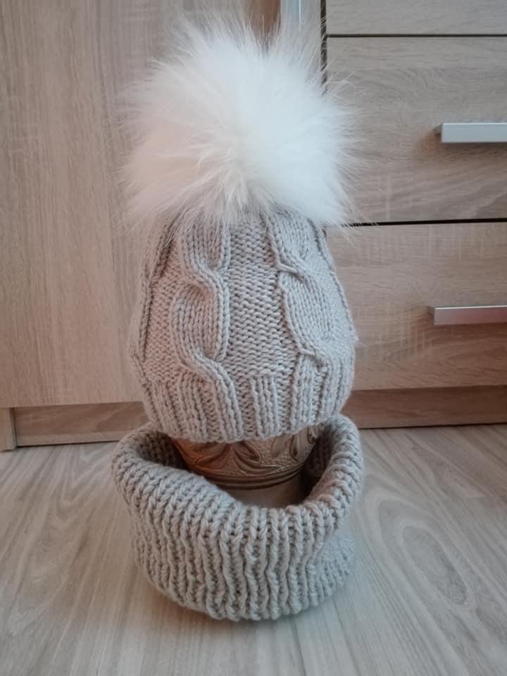 9dc126ca9 Jarne čiapky-ručne pletene, 56 - 158 - 9 € od predávajúcej henuskob | Detský  bazár | ModryKonik.sk