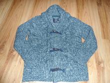 Frajerský teplý sveter s límcom, takko,122