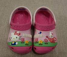 Crocs hello kitty 4-5, crocs,20