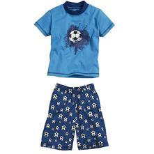 Playshoes pyžamo so šortkami futbal č. 80-116, playshoes,80 - 116