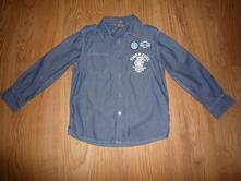 Rifľová košeľa, h&m,116
