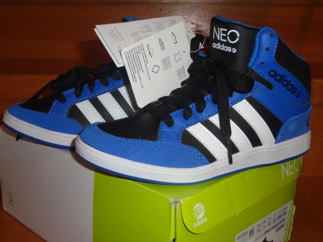 aa978a05164 Adidas neo vlneo hoops mid k