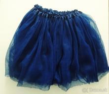 Tylová, elastická suknička - tuttu skirt (bikbok), 32 / 34 / s / xs