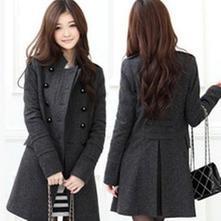 Dámsky kabát s,m,l,xl, l / m / s / xl / xs