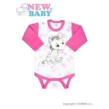 Detské body - zebra - ružové veľ 80  , new baby,80