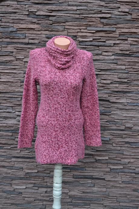 8bbe0347ae36 Veľmi teplý dlhý sveter