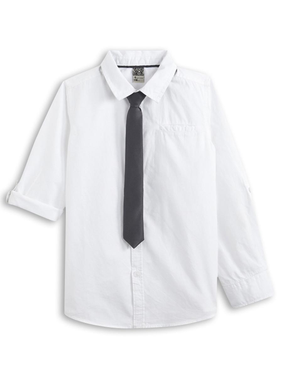 85a07d29ddb6 Košeľa s kravatou dlhý na krátky rukáv