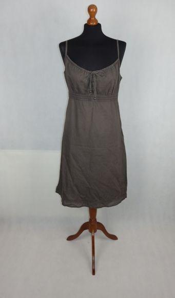 Esprit letné ľanové šaty 21ca804b587