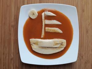 Banan, marhulova vyziva