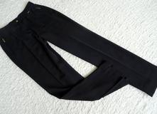 07ead6a463a9 Čierne elegantné nohavice gardeur