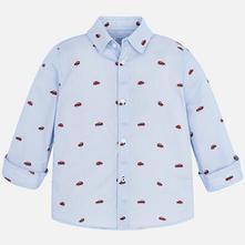 Mayoral chlapčenská košeľa 4146-074 blue, mayoral,92 - 134