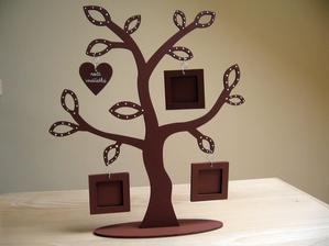 stromček 34x31 cm s mini rámikmi