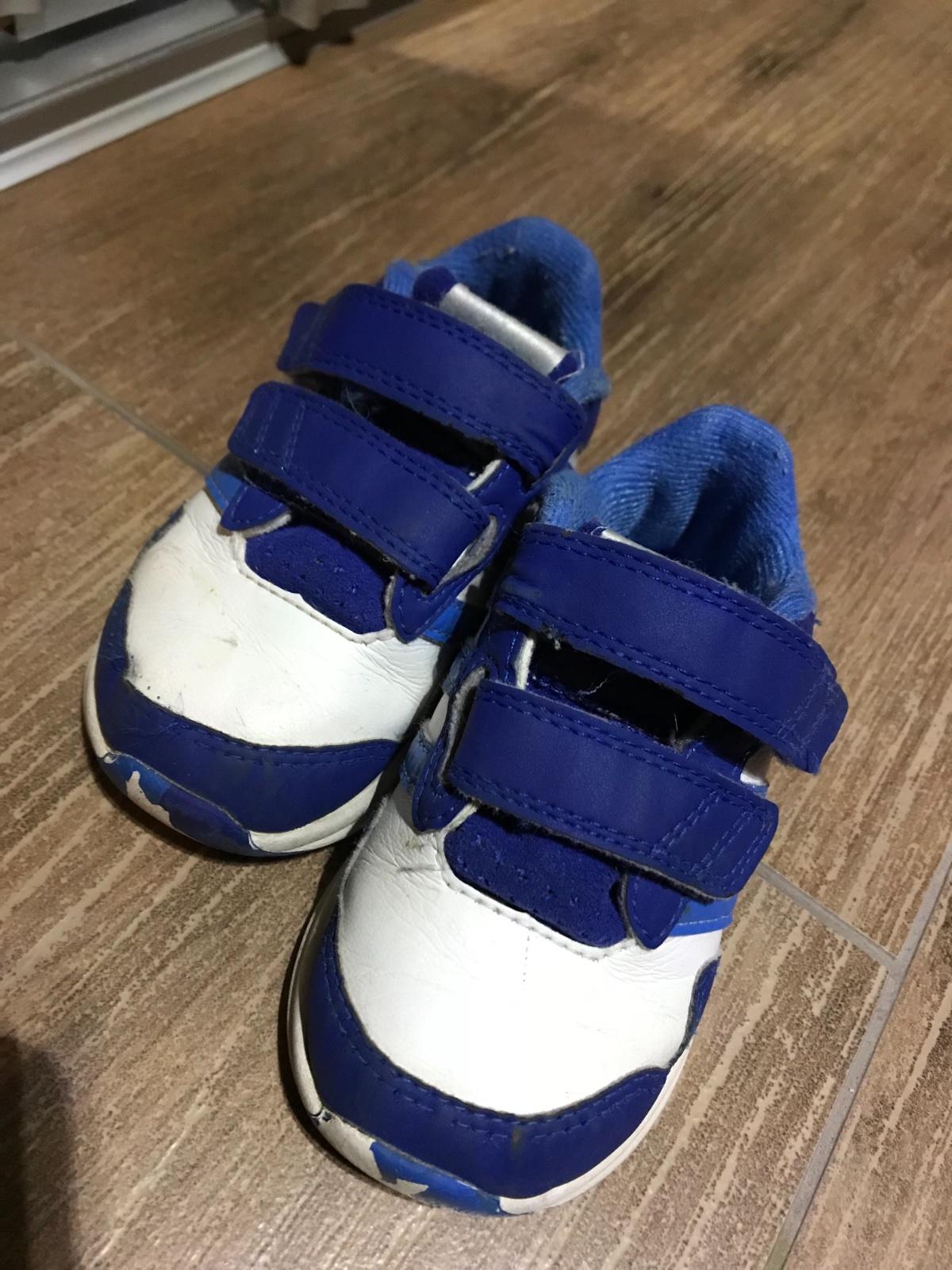 Botasky modre adidas 85e73c26726