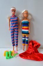 2 x bábika typu barbie - steffi + doplnky 83740fe5db6