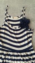 Pásikavé šaty, h&m,146
