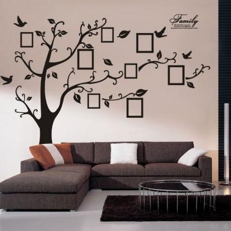 tapeta strom spomienok 19 50 detsk 253 baz 225 r elegant family tree wall sticker family wall art