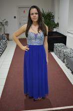 Spoločenské šaty kráľovsko modré, 36
