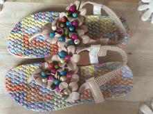 Farebne sandalky , 36
