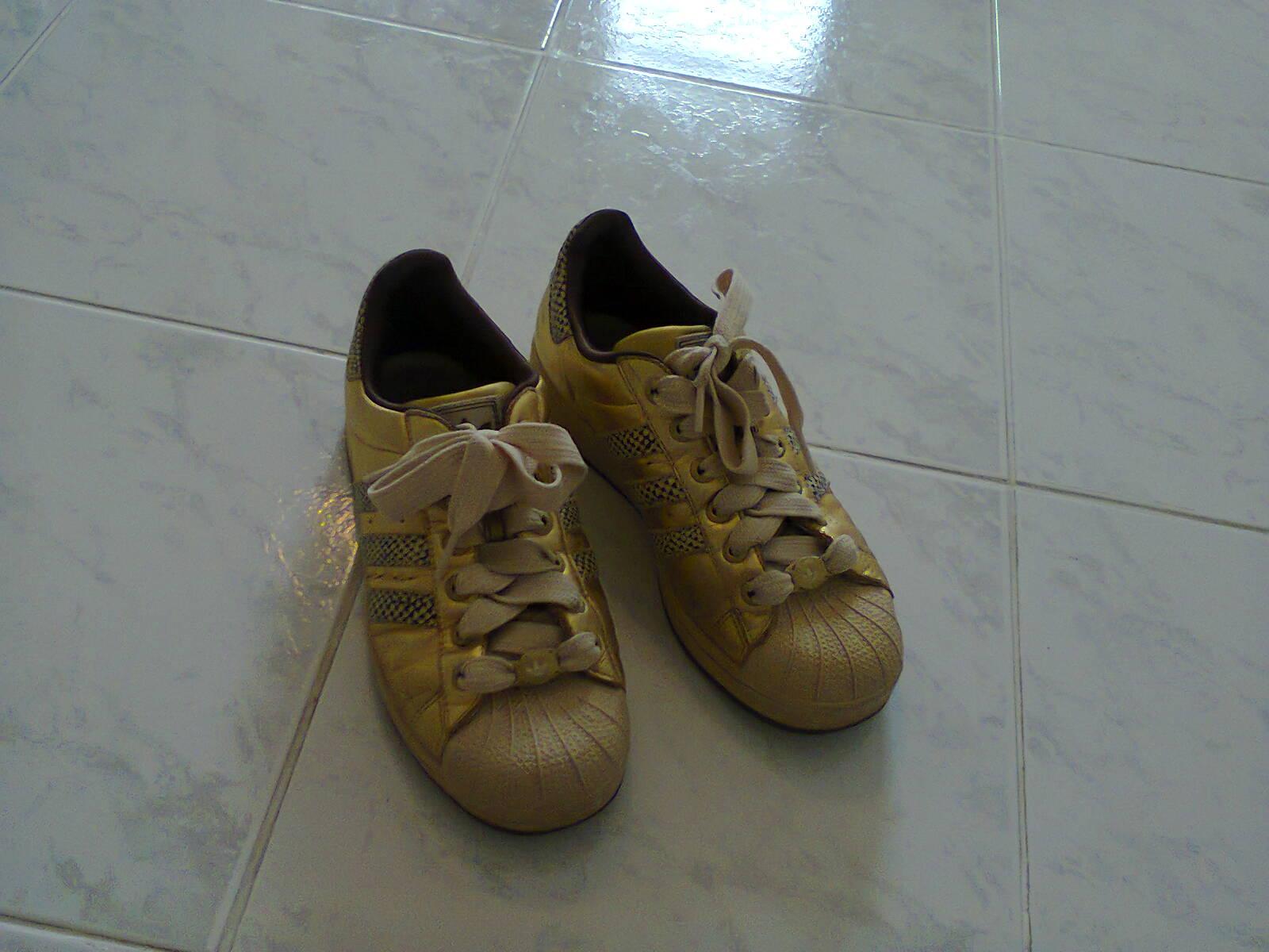 Tenisky adidas zlaté 01ab5c6936