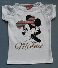 Tričko minnie s krátkym rukávom 82040 - výpredaj, disney,116