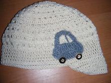 Háčkované čiapky, 86