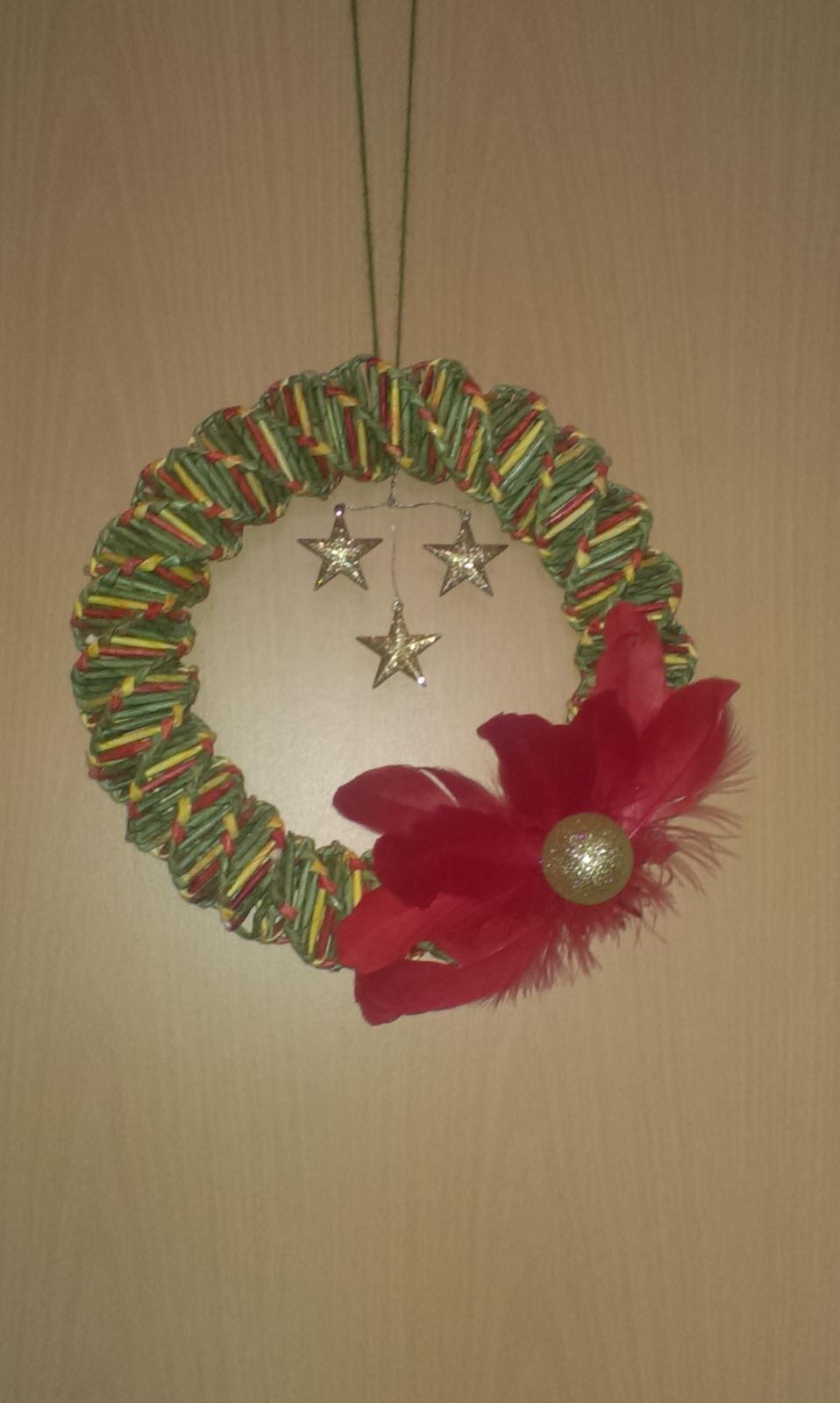 43b7e0b02 Vianočné pletenie :-) - vianočný veniec - Album používateľky bonka6 ...