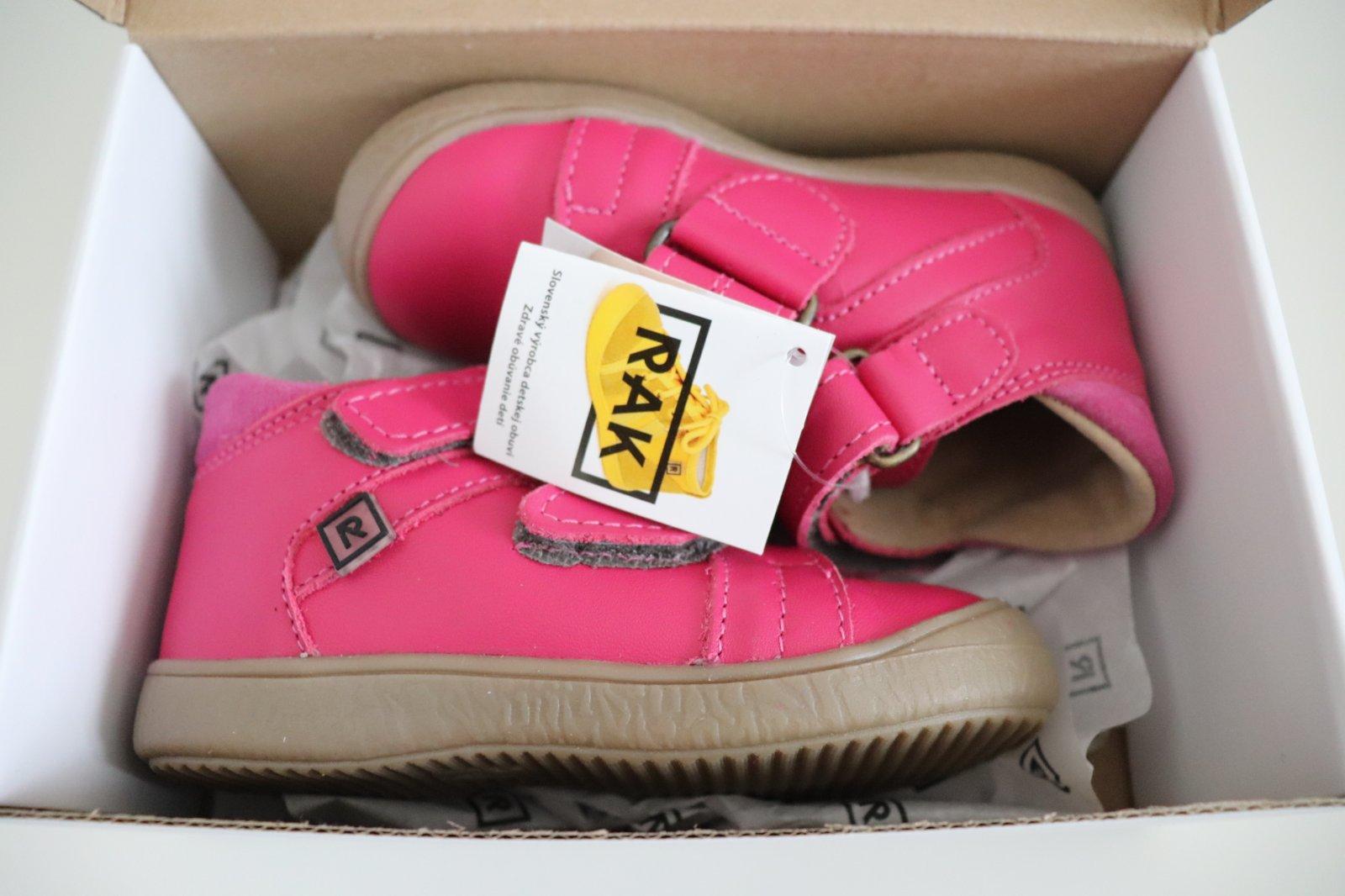 89cd745cdd4e3 Rak dievčenské kožené topánky wendy, rak,24 / 27 / 28 - 34 € od  predávajúcej princeznovo | Detský bazár | ModryKonik.sk