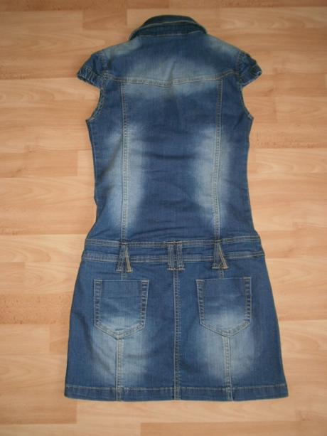Elastické rifľové šaty s m 97d099f98c