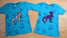 Detské tričko bavlnené meniaci dinosaurus, 104 - 164