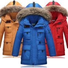 Zimná páperová bunda / kabát  - 5 prevedení, 122 - 170