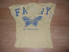 Tričko s motýľom, terranova,m